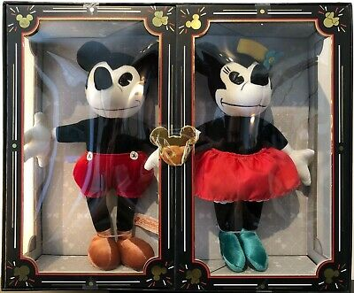 Limited Release Mickey & Minnie Mouse plushs