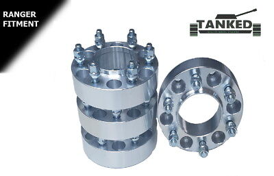 Ford Ranger 2012 On  Wheel Spacers 4 x 38 mm Vehicle Specific Hub Centric 93.1