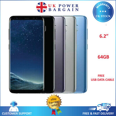 Samsung Galaxy S8+ Plus SM-G955F - 64GB - (Unlocked) Android Smartphone Colours