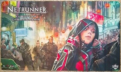 Unique ANR Playmat: 2nd place @ 2017 Android Netrunner European Championship