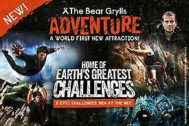 2 X Bear Grylls Adventure Tickets ( Birmingham )  Valid For 24th  November 2019