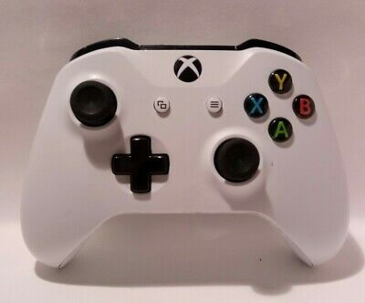 Official Microsoft Xbox One S (1708) White Wireless Controller.