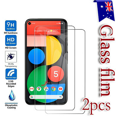 [2 Pack] Google Pixel 4 XL 3 XL 3A XL Full Cover Tempered Glass Screen Protector