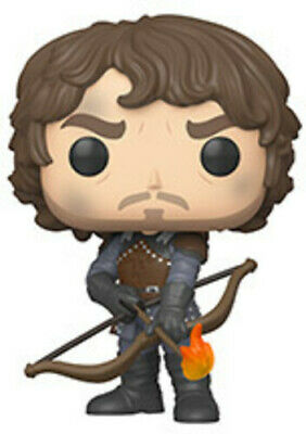 Funko Pop! Television: - Game Of Thrones - Theon W/Flaming (Toy Used Very Good)