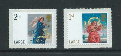 Gb 2007 Christmas 1St & 2Nd Class Large Self Adhesive Mint Stamps. (Sg 2791 -2 )