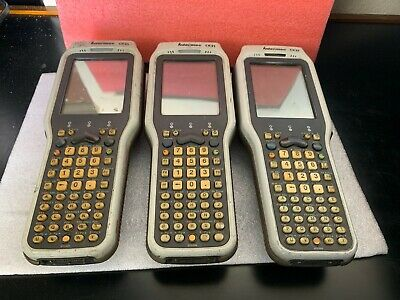 Lot of 3 Intermec CK31 Wireless Scanners WITH CHARGER STATION NO AC (12)