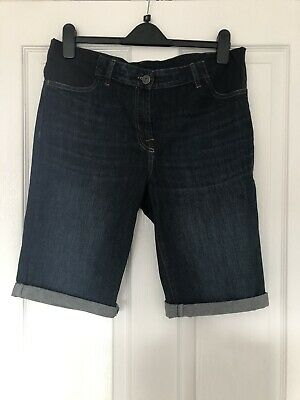 Next Maternity Denim Shorts Size 12