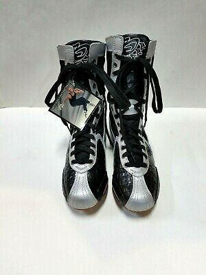 Frontline BF4 Women's Size 5.5M (fits 6.5M) Black/Silver High Top Dance Sneakers