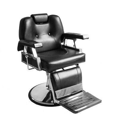 Recline Barber Chair Salon Beauty Shaving Hairdressing Hydraulic Lift Chairs NEW