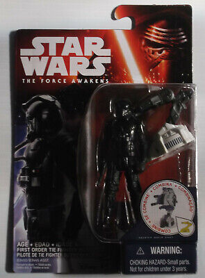 Star Wars The Force Awakens 2015 3.75 Inch First Order Tie Fighter Pilot Figure