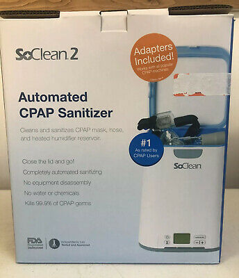 SoClean 2 Automated CPAP Equipment Cleaner and Sanitizer Machine SC1200