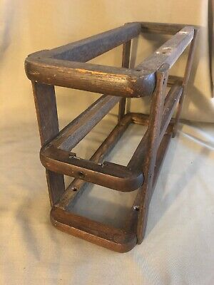 Antique Singer Treadle Sewing Machine Drawer Frame Right Side Oak Repurpose