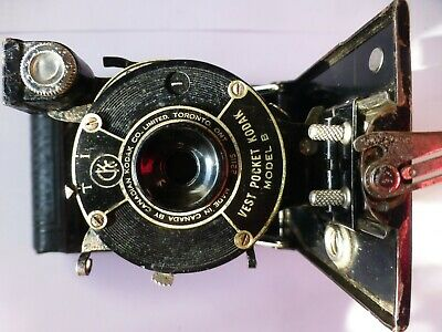 Kodak Vest Pocket Model B 127 Folding Camera.