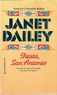 FIESTA SAN ANTONIO By Janet Dailey **Mint Condition**
