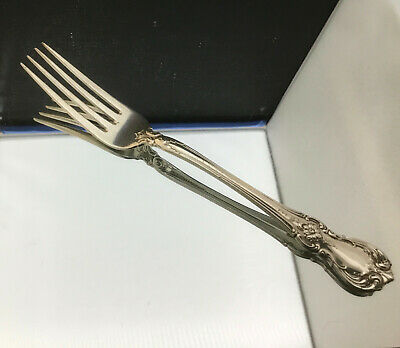"""Towle Old Master Dinner Size Fork - 7 3/4 """""""