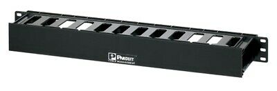 "Panduit Wmpfse Patchlink Horizontal Cable Manager 19"" Front Only 1 Ru"