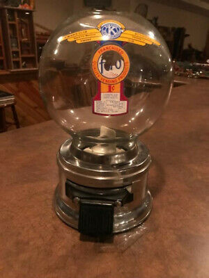 1950's Ford Stainless steel penny gumball machine