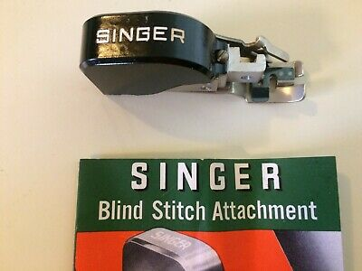 Vintage Singer Blind Stitch Attachment No.160616 with instructions