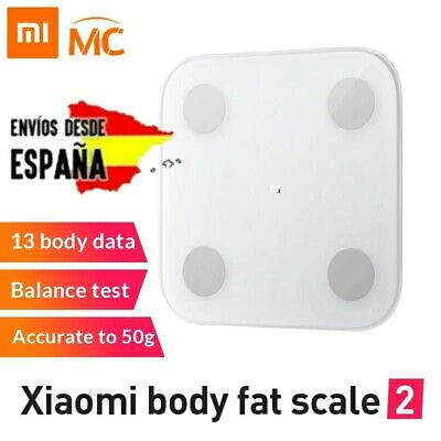 Xiaomi Mi Body Composition Scale. Mi Smart Scale 2. Bascula digital Bluetooth