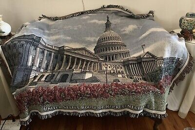 """""""United States House Of Representatives"""" Throw Or Lap Blanket"""