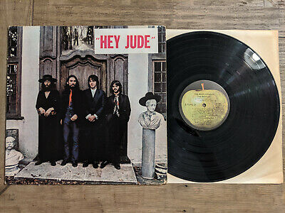 The Beatles LP Hey Jude / Again - Apple SW 385 / SO-385 With Rare Hype Sticker
