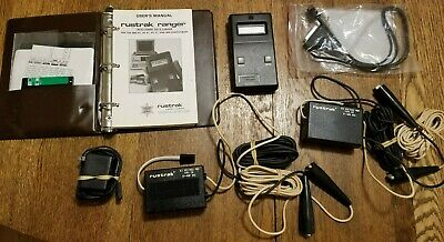 RUSTRAK RANGER INTELLIGENT DATA LOGGER with Manual and Extras