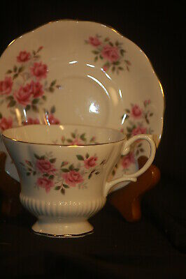 Royal Albert Pink Roses Cup  and Saucer