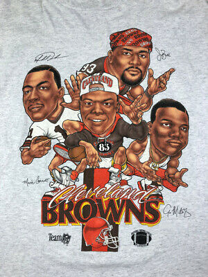 Vintage Cleveland Browns Tee Browns Tshirt White S-4XL REPRINT DD779