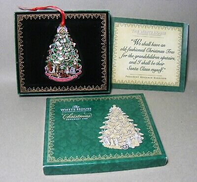 The White House Historical Assn Christmas Ornament 2008 in Box