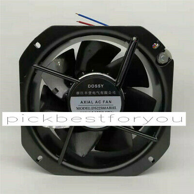1PC DOSSY DS22580ABHL 380VAC 100W 225*225*80MM Fan 90 warranty #M327D QL