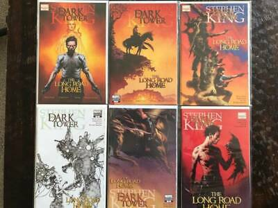Dark Tower: The Long Road Home Comic Book Lot, Marvel, NM, Variants, 14 Issues