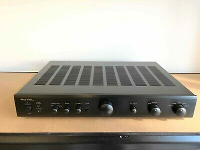 Rotel A10 Integrated Amplifier - Black (Brand New with accessories)