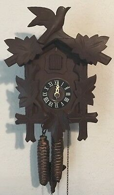 E. Schmeckenbecker Black Forest Cuckoo Clock - West Germany
