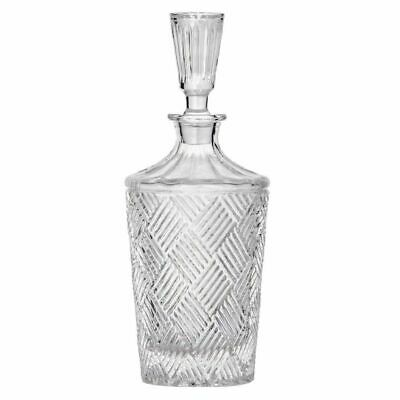 NEW DAVIS AND WADDELL FINE FOODS GRANDE GLASS DECANTER 900ml Scotch Alcohol