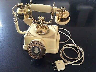 Vintage Telephone Made By Tele Antiques Sydney Circa 1973