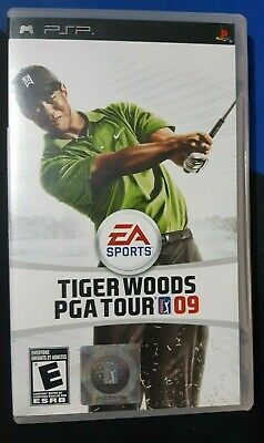 Tiger Woods PGA Tour 09 (Sony PSP, 2008) Complete