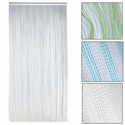 210x90CM Metal Aluminium Chain Link Fly Pest Control Insect Door Screen Curtain