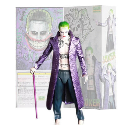 "Crazy Toys DC Comic The Joker 6"" Suicide Squard Action Figure Model Statue Gift"
