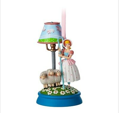 Disney Store Sketchbook Bo Peep Light-Up Christmas Ornament