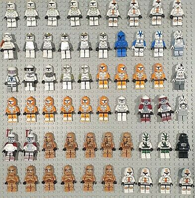 Genuine Lego Star Wars Clone Trooper Minifigures VGC great stocking fillers