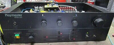 Playmaster Series 200 Amplifier, Tested and Working