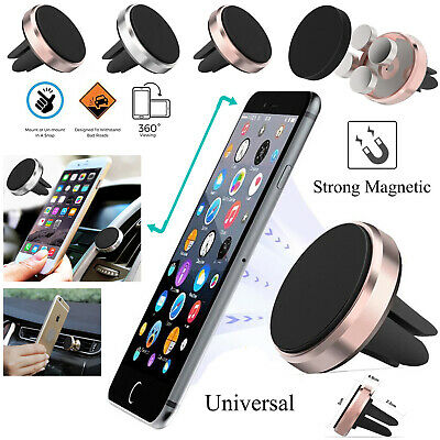 SECURE Universal 360 Rotating Car Air Vent Mount Cell Holder For Various iPhone
