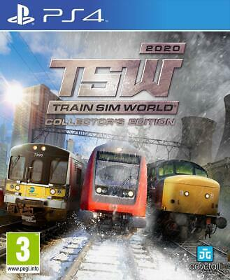 Train Sim World 2020 Collector's Edition Playstation 4 PS4 PreOrder 22/11/2019