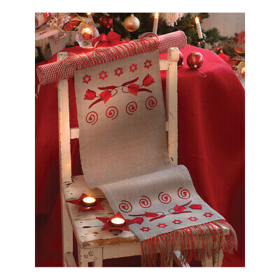 ANCHOR | Embroidery Kit: Christmas Tulips -  Runner | 92400002537
