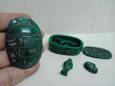 Royal Scarab is very rare ancient Egyptian civilization . 5 piece