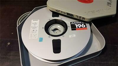 Vtg Ampex Video Film master broadcast reel tape - Yogi Bear-Cinema/TV