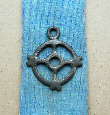 Ancient Viking White Bronze pendant AMULET ** SUN ** GREAT SAVE