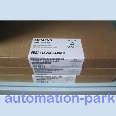 1PC NEW In Box SIEMENS 6ES7412-2xg04-0ab0 6ES74122xg040ab0 One year warranty