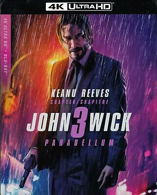 John Wick 3: Parabellum (4K Ultra Hd/Bluray)(2 Disc Set)(Used)