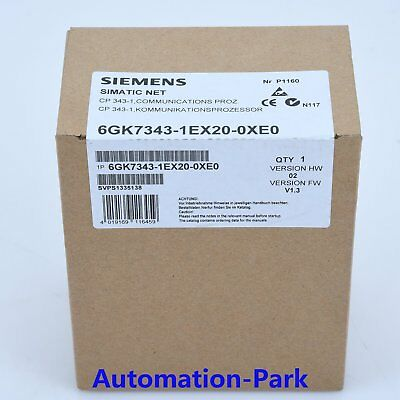 NEW IN BOX 1pc Siemens 6GK 7343-1EX20-0XE0 6GK73431EX200XE0 One year warranty